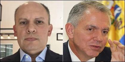 Nervis Villalobos y Javier Alvarado.