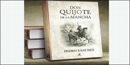 'Don Quijote de La Mancha', obra también de Pedro Sánchez.