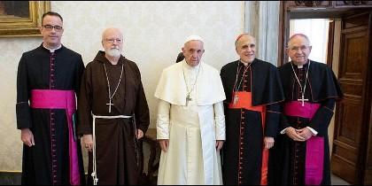 Papa y cúpula obispos USA