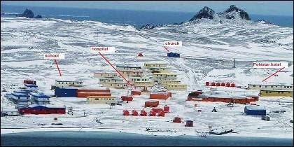 Villa Las Estrellas, Antartica Chilena.