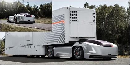 Coche eléctrico y autónomo de Volvo