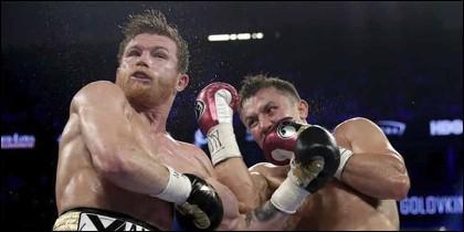 Boxeo: Golovkin vs. Canelo.