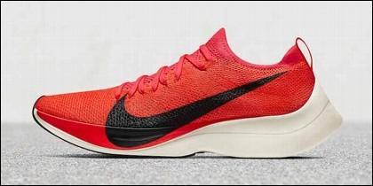 La zapatillas Vaporfly Elite de Nike.