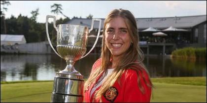 La golfista española Celia Barquin, asesinada en EEUU.