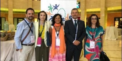 Representantes de Ausolan, en el Congreso de Fede