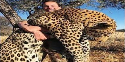 La cazadora Tess Thompson Talley conocida como Britany L.