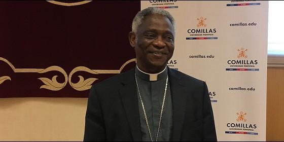 El cardenal ghanés clausura las XV Jornadas de Teología de Comillas