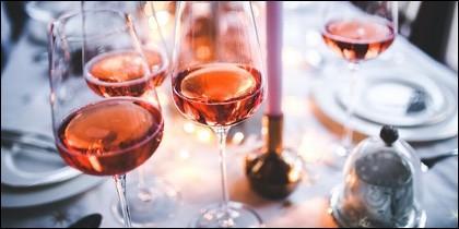 Demostración de los vinos rosados de Cigales