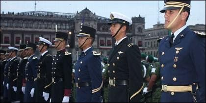 Soldados mexicanos
