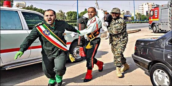 Atentado terrorista contra un desfile militar en Irán.