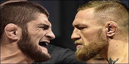 UFC: Khabib Nurmagomedov contra Conor McGregor.