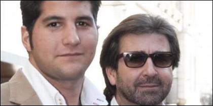 Julián Contreras Jr. y su padre
