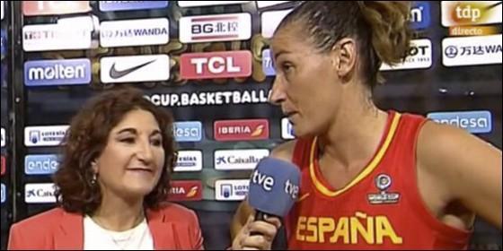 Laia Palau en 'Teledeporte'