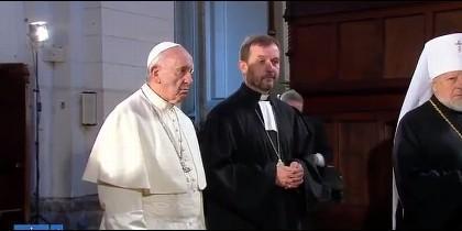 El Papa, en el encuentro ecuménico de Riga