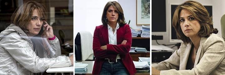 La ministra Delgado, en una situación muy delicada.