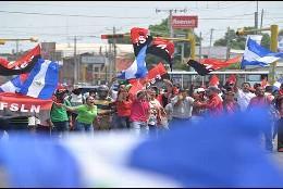 Manifestación 'Somos la voz de los presos políticos' n Nicaragua
