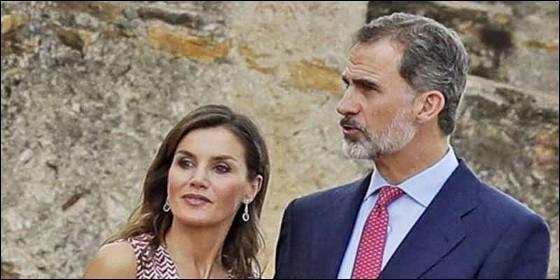 Los reyes Felipe VI y Letizia (ESPAÑA).