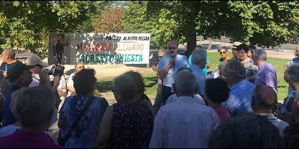 Vallecas dedica unos jardines al obispo auxiliar de Madrid, 'el jardinero fiel'