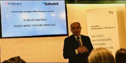 David López, director dee RSC de Chávarri Abogados