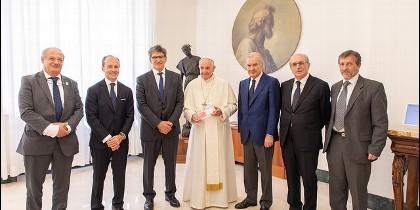 Francisco y los implicados en la campaña