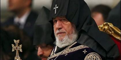 El Catolicós armenio, Karekin II