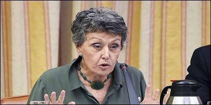 RTVE: la periodista Rosa María Mateo.