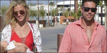 Carla Pereyra y Diego Simeone