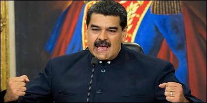 El dictador Nicolas Maduro