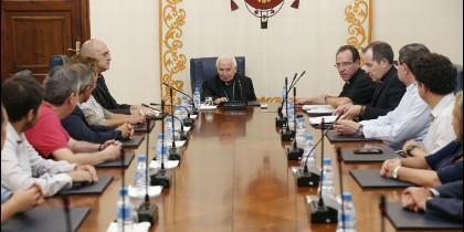 El Cardenal Cañizares constituye el Consejo Diocesano de Laicos de Valencia