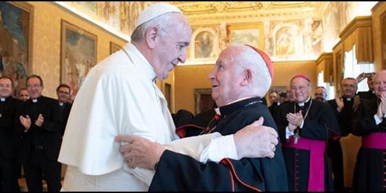 Francisco recibe al cardenal Antonio Cañizares