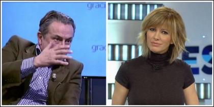 Hermann Tertsch y Susanna Griso.