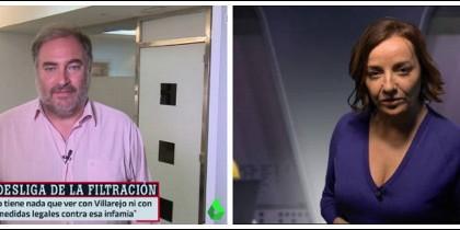Joaquín Vidal y Pepa Bueno.