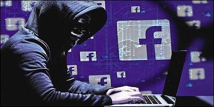 Facebook, redes sociales, hackers y cuentas.