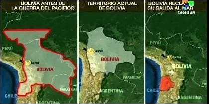 La 'batalla' por la salida al mar entre Bolivia y Chile, a lo largo de la Historia.