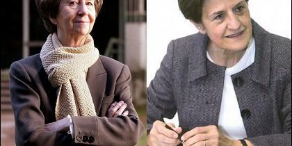 Margarita Salas y Adela Cortina