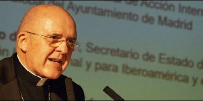 Carlos Osoro, en el Congreso de Fe y Alegría