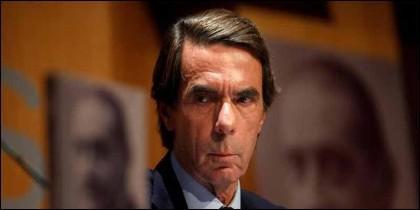 El expresidente español José María Aznar (PP).
