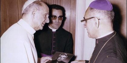 Romero y Pablo VI