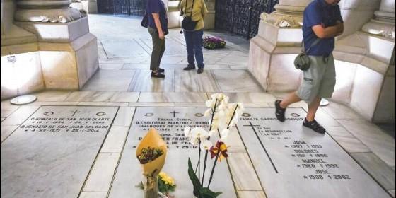 Los Franco, en la cripta de La Almudena