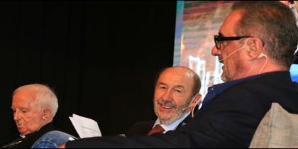 Antonio Cañizares, Alfredo P. Rubalcaba y Carlos Herrera