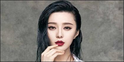 La actriz china Fan Bingbing.