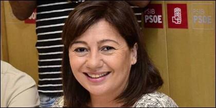 La socialista Francina Armengol, presidenta del gobierno Balear.