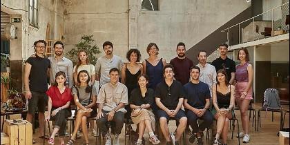 Grupo de artistas de Swatch Cities Madrid