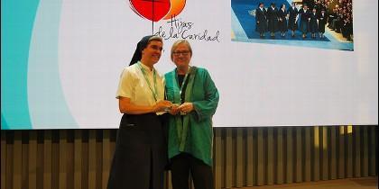 Hijas de la caridad reciben el premio