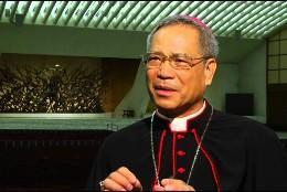 Monseñor John Hung Shang-chuan, arzobispo de Taipei