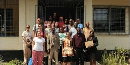 Integrantes del proyecto de San Pablo CEU en Sierra Leona