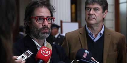 Los chilenos José Andrés Murillo y James Hamilton