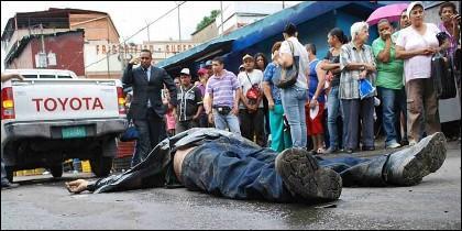 Crimen, delito y muerte en la Venezuela chavista.