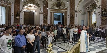 Vigilia en la Basílica
