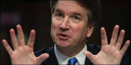 El juez Brett Kavanaugh.